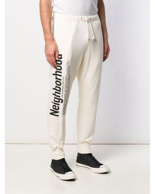 Pantaloni sportivi con stampa di Neighborhood in Multicolor da Uomo