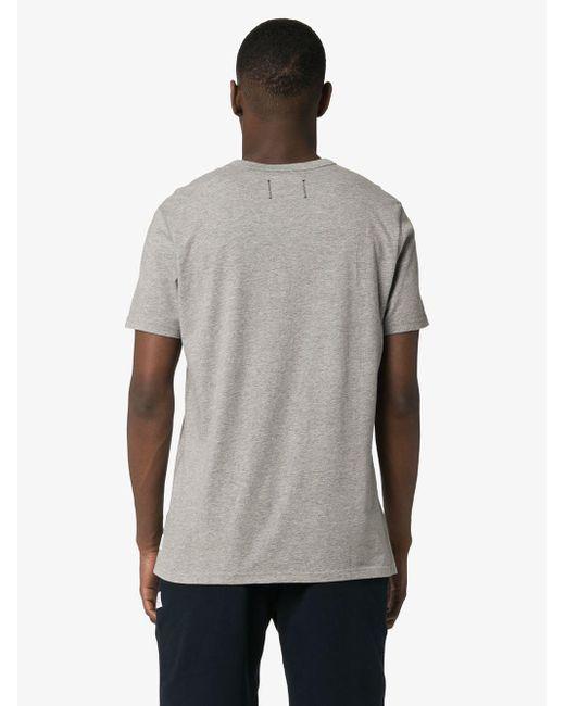 Reigning Champ Klassisches T-Shirt in Gray für Herren