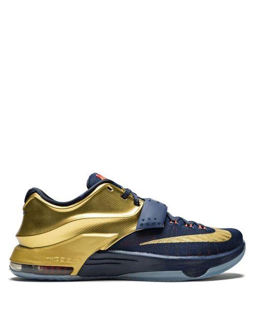 Nike Blue Kd 7 Prm Sneakers for men