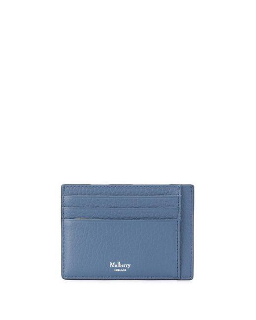 メンズ Mulberry カードケース Blue