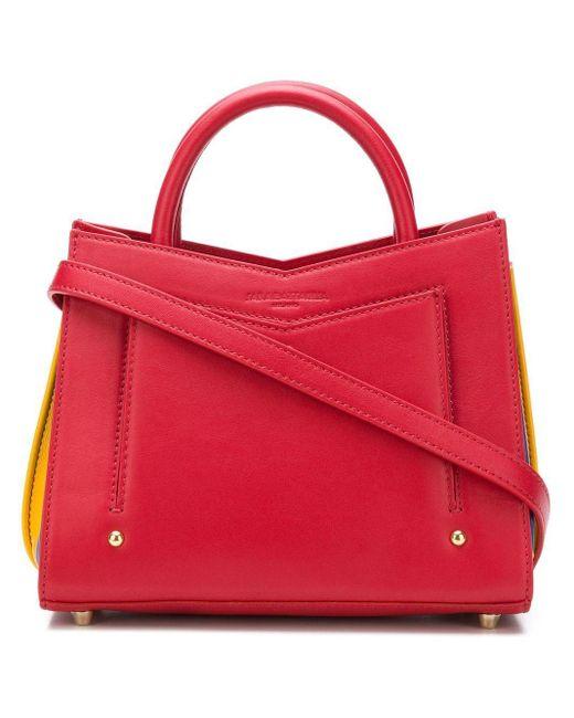 Sara Battaglia Toy Tote Bag Red