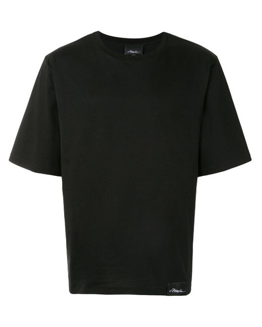 メンズ 3.1 Phillip Lim ロゴ Tシャツ Black