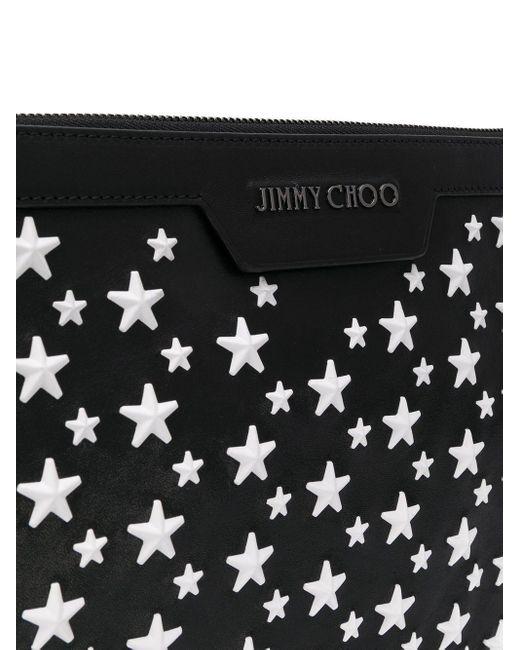 Клатч 'derek' Jimmy Choo для него, цвет: Black