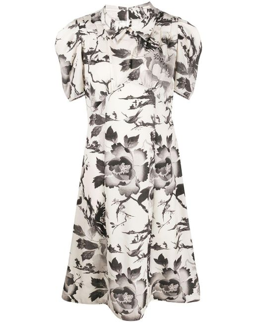 McQ Alexander McQueen Satomi フローラル ドレス Multicolor