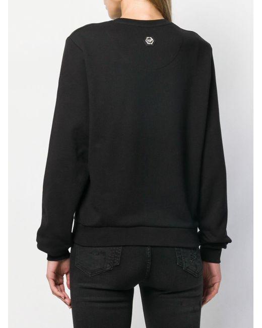 Philipp Plein ロゴ セーター Black