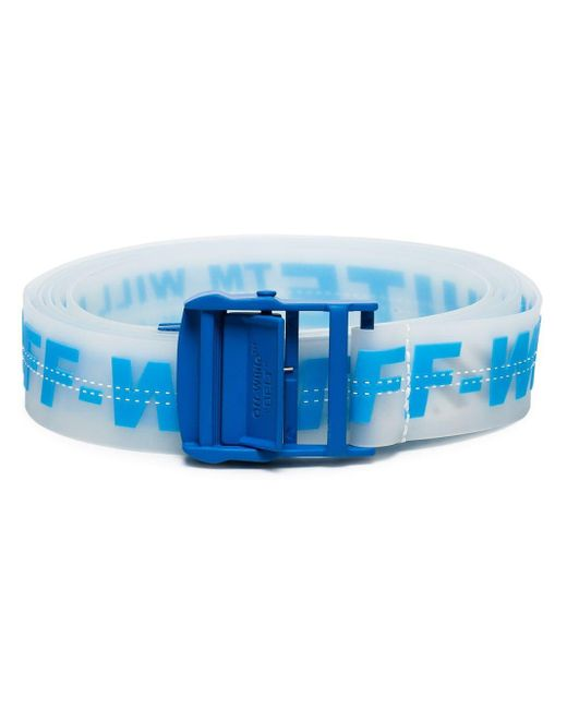 Off-White c/o Virgil Abloh Blue Industrial Logo Belt