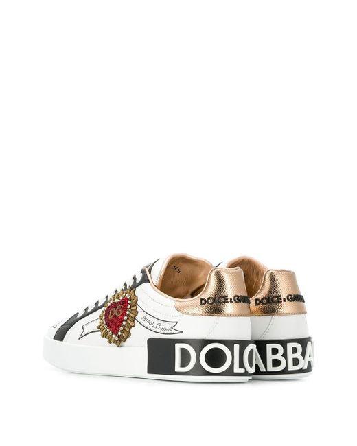Кроссовки 'portofino' Dolce & Gabbana, цвет: Multicolor