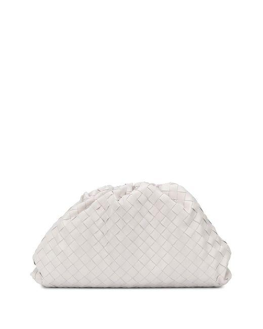 Pochette The Pouch Bottega Veneta en coloris White
