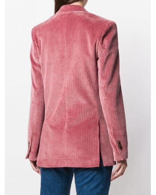 AMI ボタンジャケット Pink