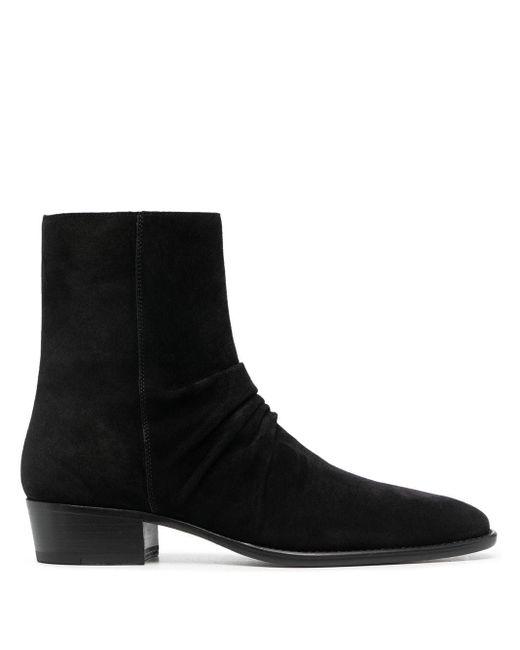 Ботинки На Молнии Amiri для него, цвет: Black