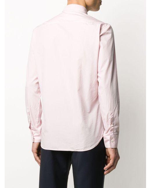 メンズ Maison Margiela ロングスリーブ トップ Pink