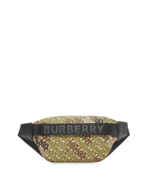 Burberry モノグラム ベルトバッグ Multicolor
