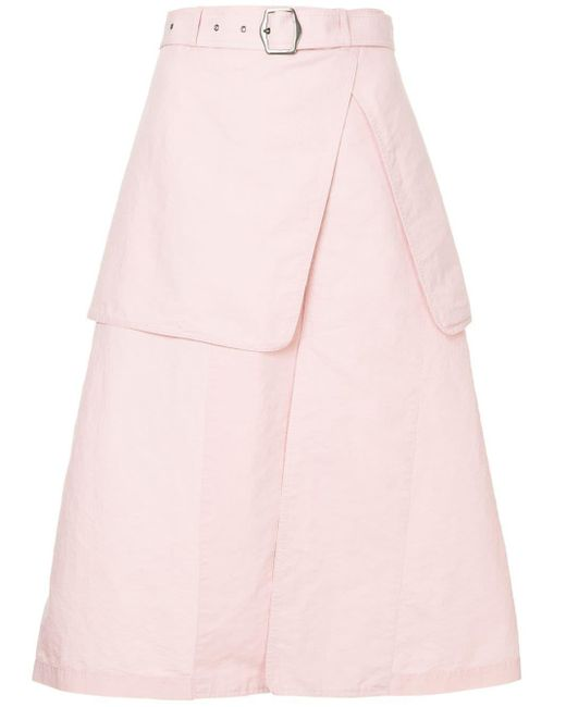 Sies Marjan レイヤード スカート Pink