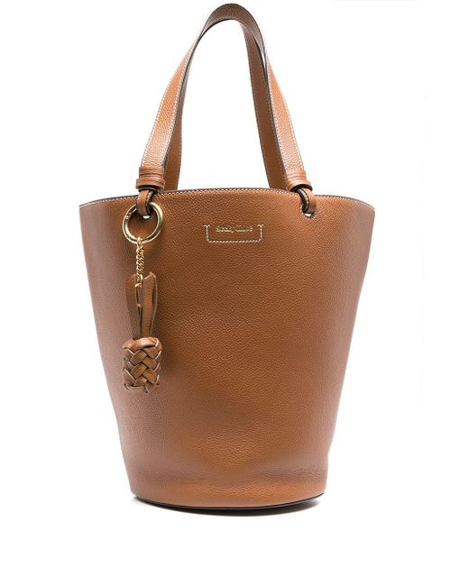 See By Chloé バケットバッグ Brown