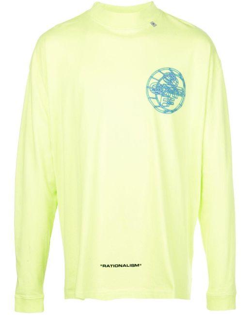 メンズ Off-White c/o Virgil Abloh 3d Off L/s Over Tシャツ Multicolor