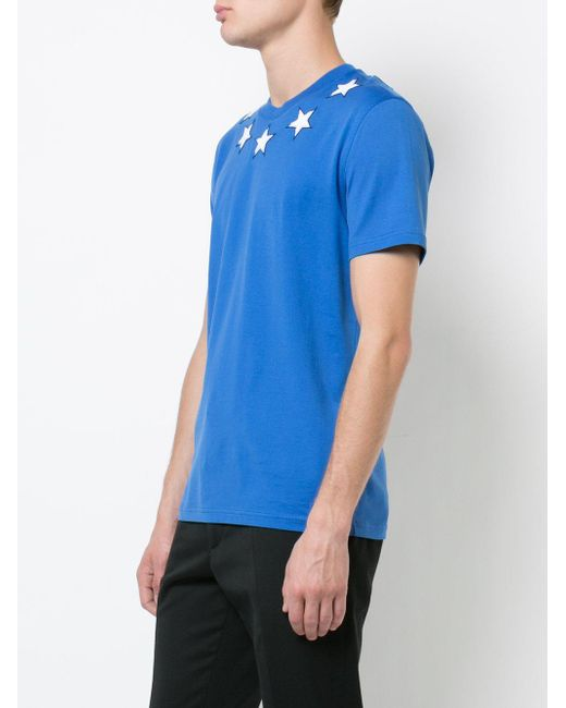 7d2fa05357b98 Givenchy Cuban Star T-shirt in Blue for Men - Save 24%