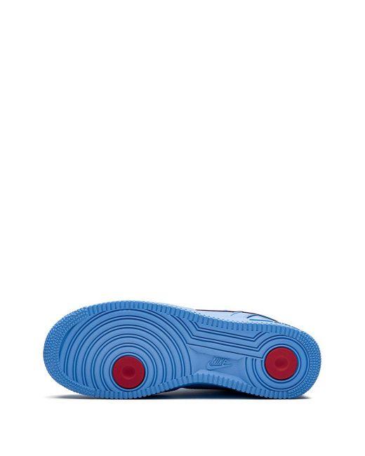 Высокие Кроссовки Air Force 1 Nike для него, цвет: Blue