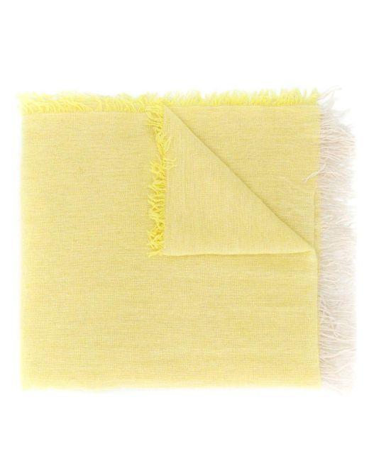 Forte Forte ロング スカーフ Yellow