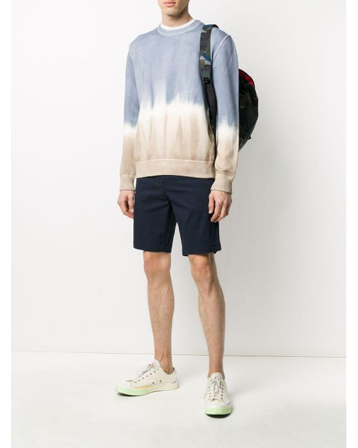Altea Multicolor Dyed Effect Sweater for men