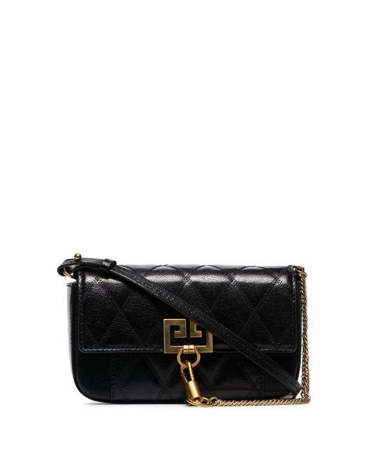 Givenchy ポケット ショルダーバッグ ミニ Black