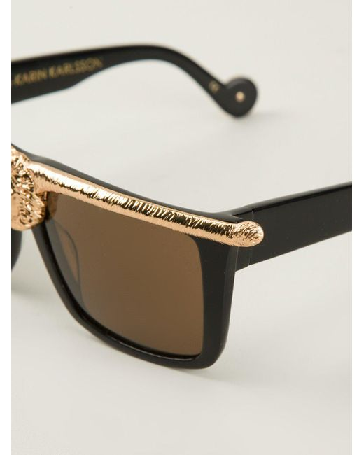 f82957bace8 ... Anna Karin Karlsson - Black  The Lioness  Sunglasses - Lyst
