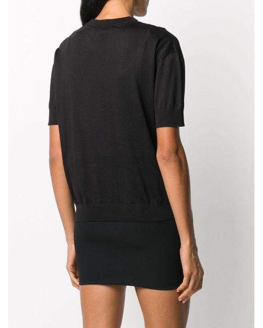 Топ С Принтом Versace, цвет: Black
