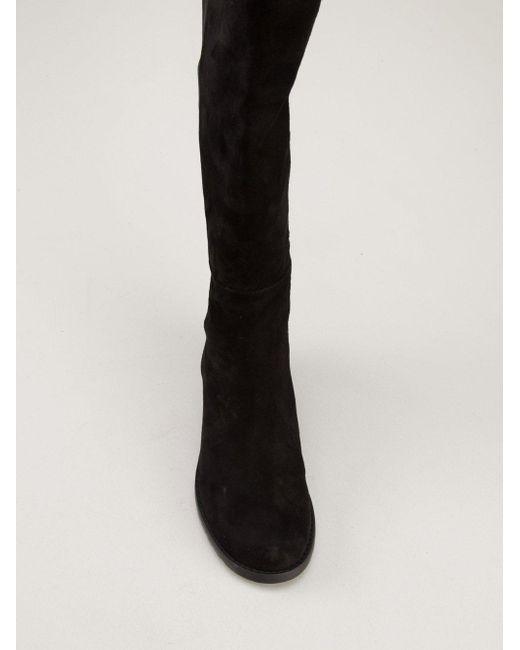 Сапоги Reserve 45 Stuart Weitzman, цвет: Black