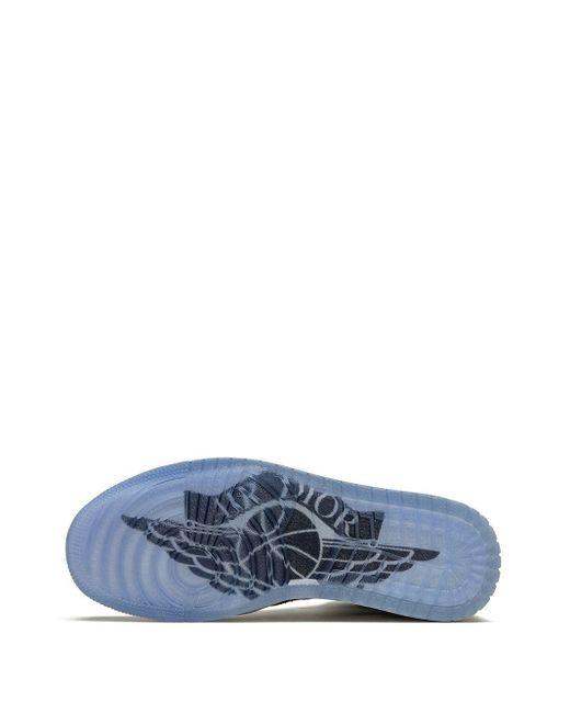 Zapatillas Air 1 High de x Dior Nike de hombre de color White