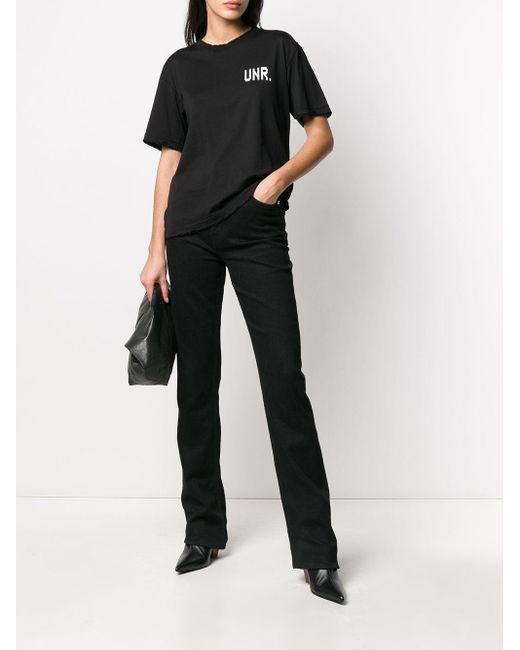 Unravel Project ロゴ Tシャツ Black