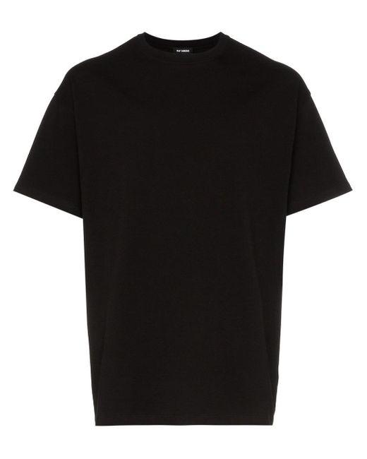メンズ Raf Simons グラフィック Tシャツ Black