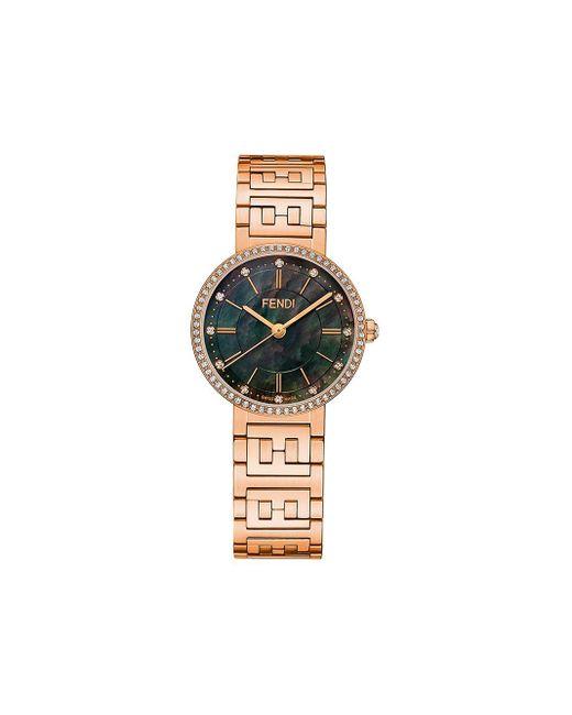 Fendi フォーエバーフェンディ 腕時計 Metallic