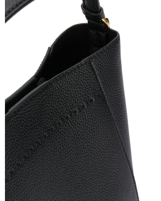 Маленькая Сумка-ведро Mcgraw Tory Burch, цвет: Black