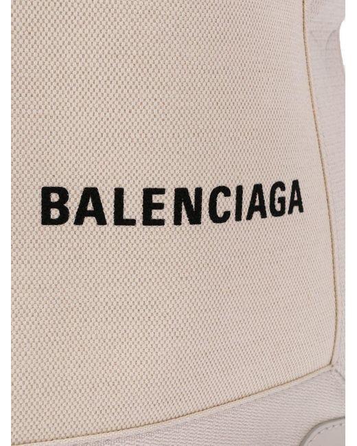 Balenciaga ネイビー カバ ハンドバッグ Xs Multicolor
