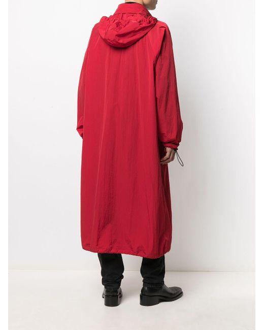 Парка Длины Миди Bottega Veneta для него, цвет: Red