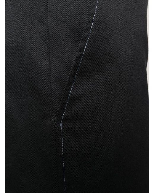 メンズ OAMC ハイウエスト ストレートパンツ Black