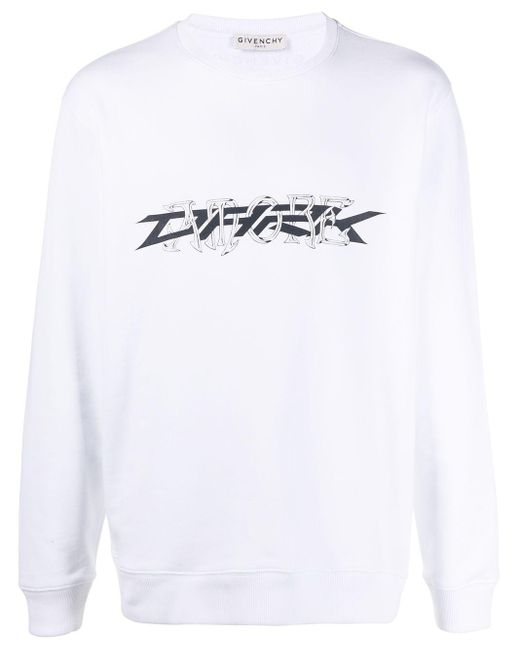 メンズ Givenchy Amore スウェットシャツ White