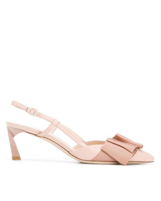 Lanvin スリングバック パンプス Pink