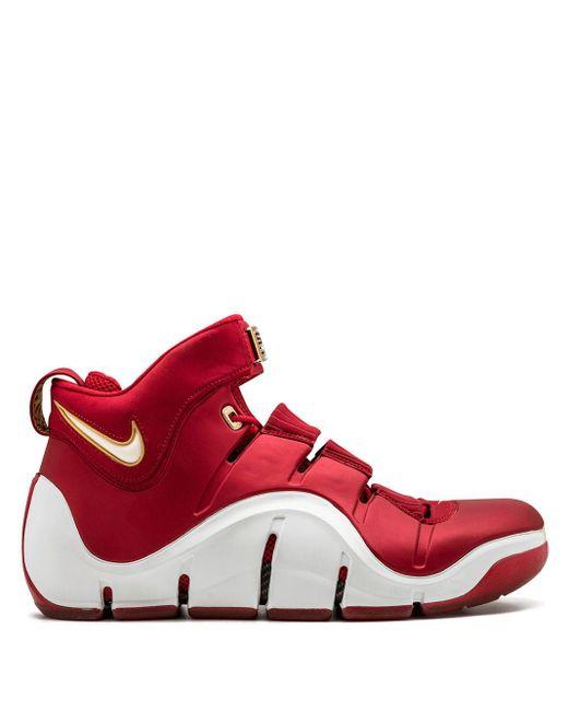 メンズ Nike Zoom Lebron 4 スニーカー Red