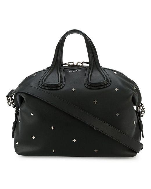 Givenchy   Black Medium Antigone Studded Tote Bag   Lyst