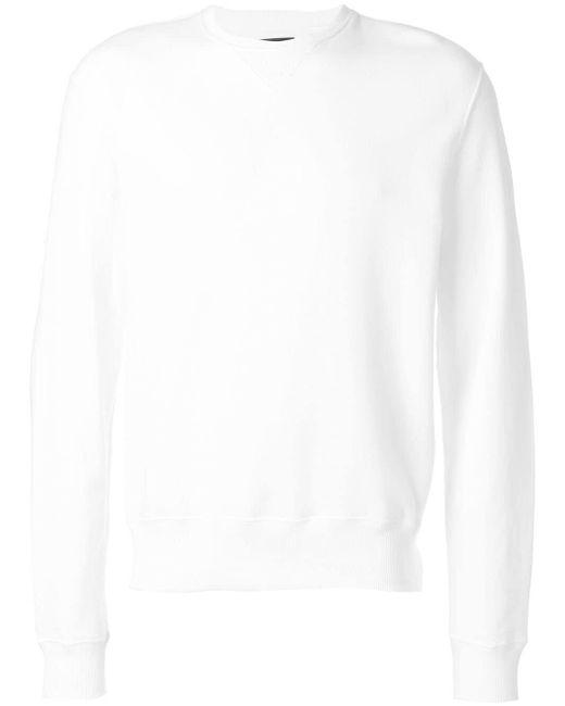 メンズ CALVIN KLEIN 205W39NYC パッチ スウェットシャツ White