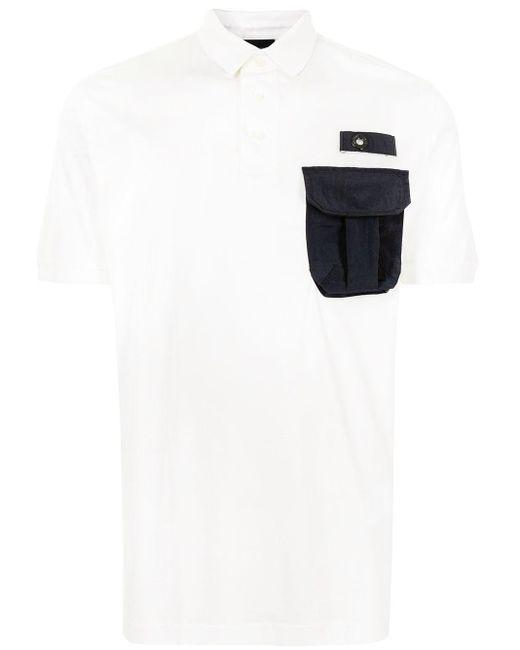 メンズ Emporio Armani ポロシャツ White