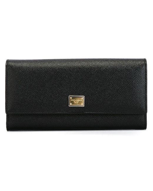 Dolce & Gabbana Dauphine 長財布 Black
