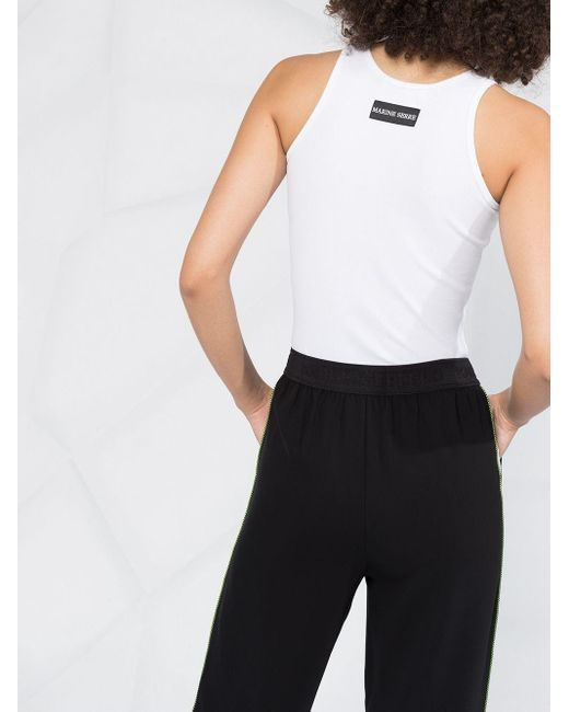 Karl Lagerfeld ロゴ トラックパンツ Black