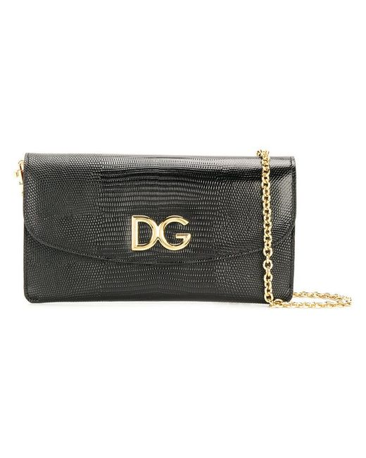 c27d5affb00a Dolce   Gabbana - Black Wallet On A Chain With Removable Pouches - Lyst ...