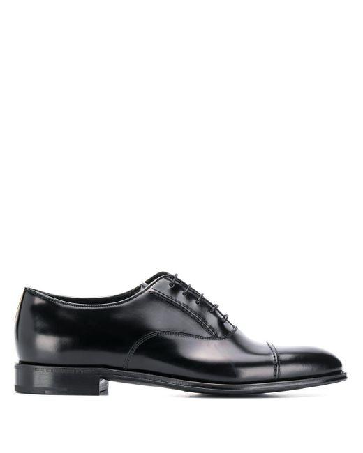 Туфли На Шнуровке Prada для него, цвет: Black