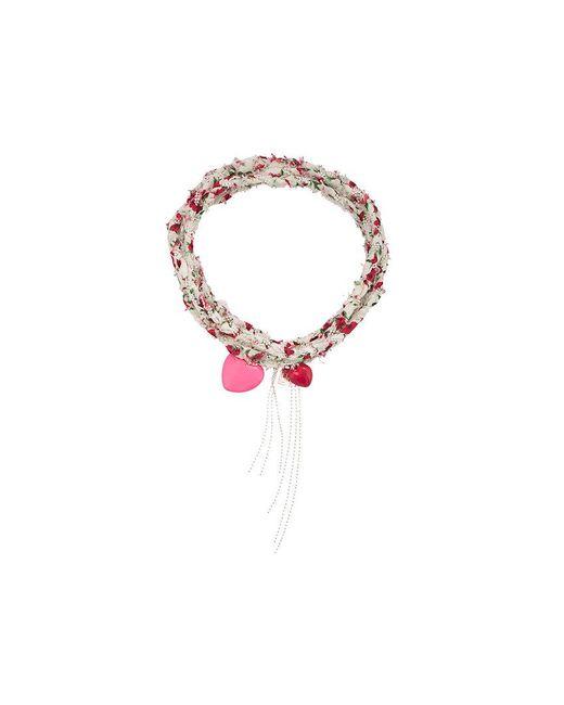 DANNIJO - White Anabel Bracelet - Lyst