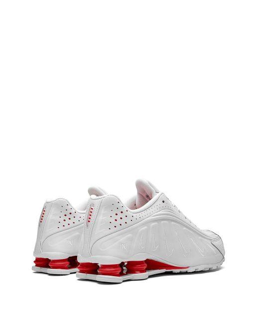 メンズ Nike Shox R4 スニーカー White