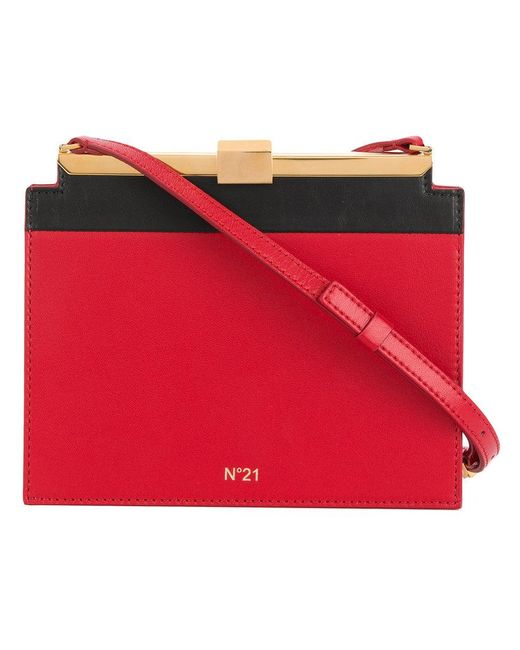 N°21 - Red Mini Shoulder Bag - Lyst