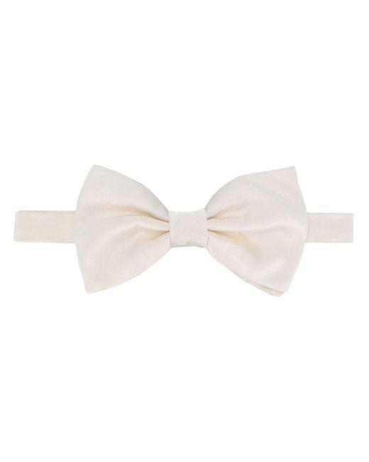メンズ Dolce & Gabbana 蝶ネクタイ White