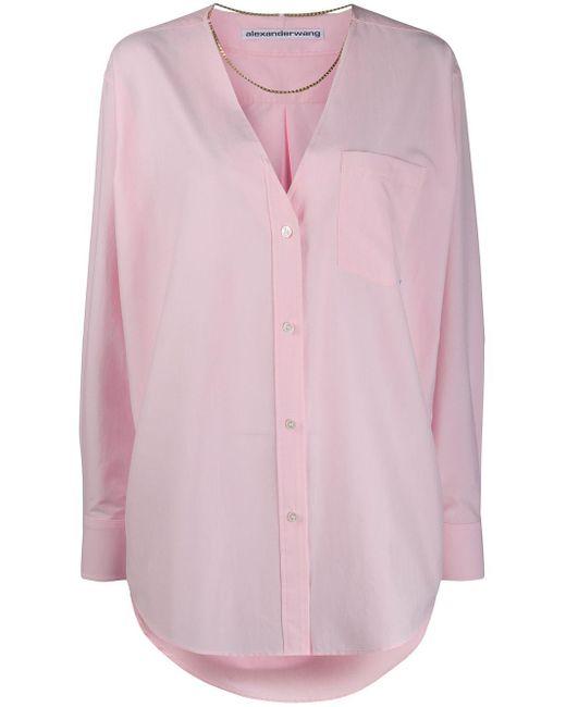 Alexander Wang オーバーサイズ シャツ Pink